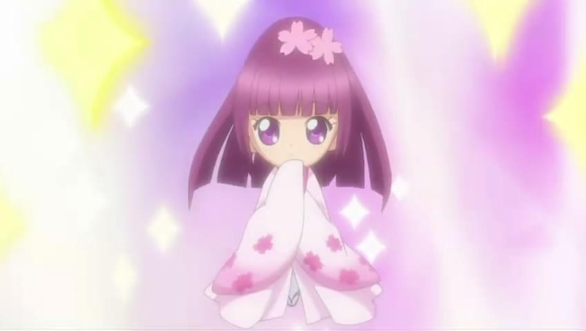 在 守护甜心 中的抚子变身大和舞姬的图片图片