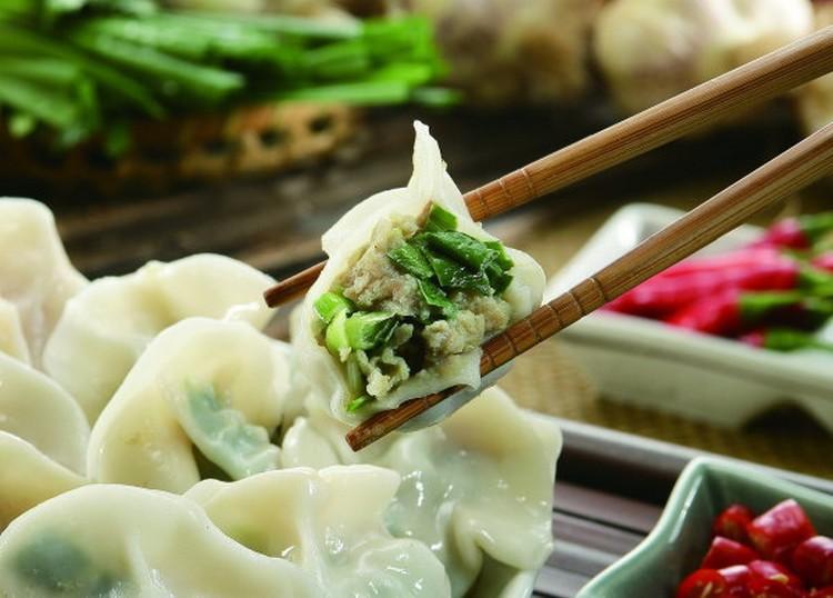 韭菜冬粉水餃做法