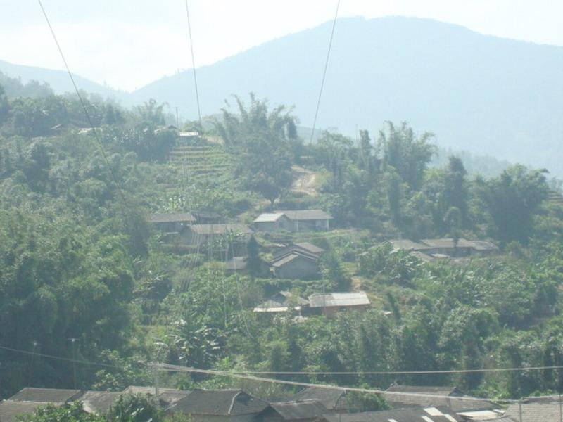 拉祜寨村村庄概貌
