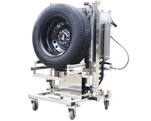 气动工具支架  本设备有四条优质伸缩气管及进口通用型自锁快速接头图片