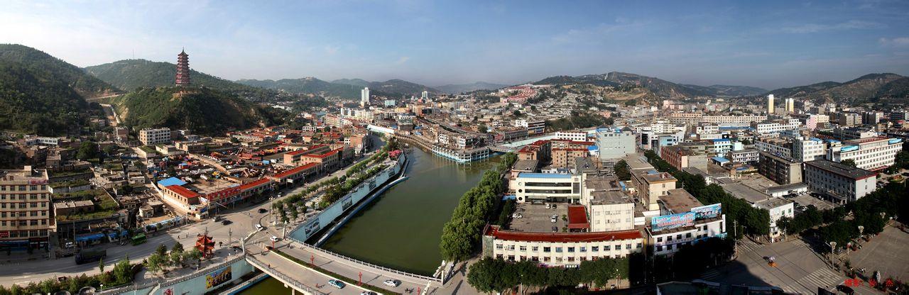 子长县全景图片