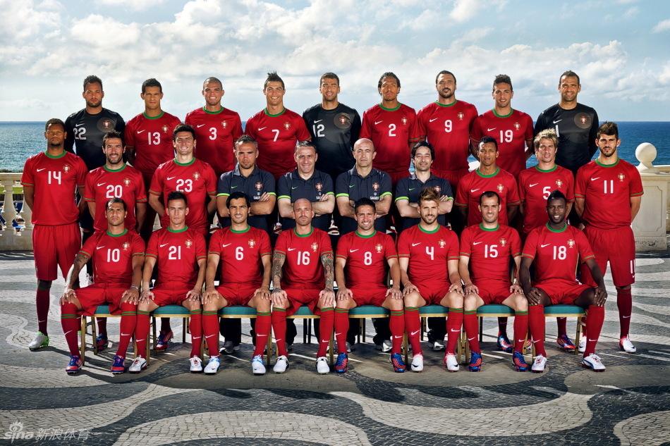 西班牙国家队 中国国家男子足球队  葡萄牙国家男子足球队是一支欧洲图片