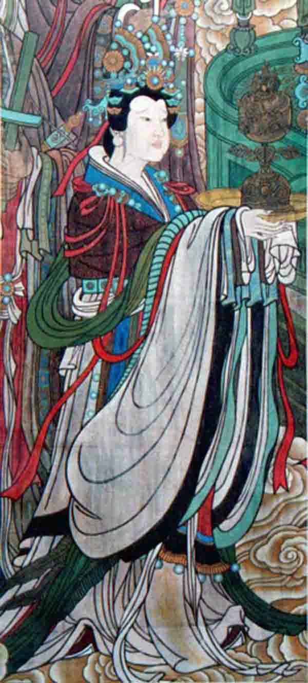 永乐宫壁画-狄少英临摹△品
