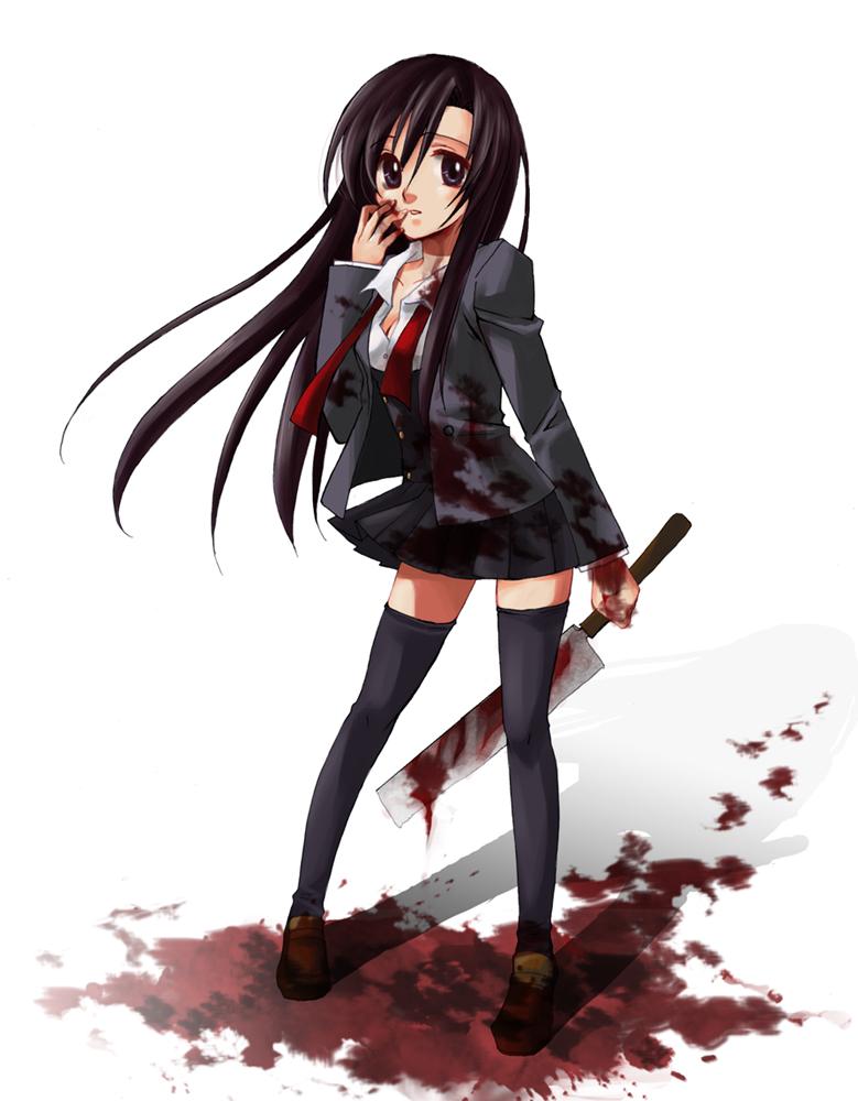 Gasai Yuno Knife 【图片】病娇图�...