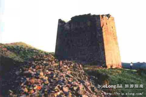 秦长城遗址图片