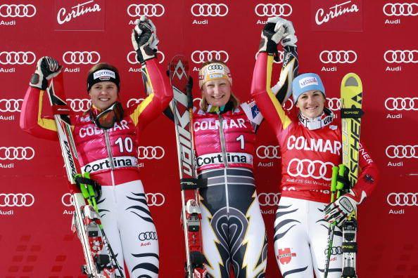 高山滑雪世界杯意大利站女子大回转