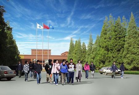 北京工业大学校园图片