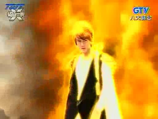 在终极一家里火焰使者出现是第几集啊?