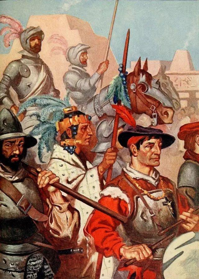 600人豪赌250万的征服:西班牙征服者的传奇人生琥珀色冠道370图片