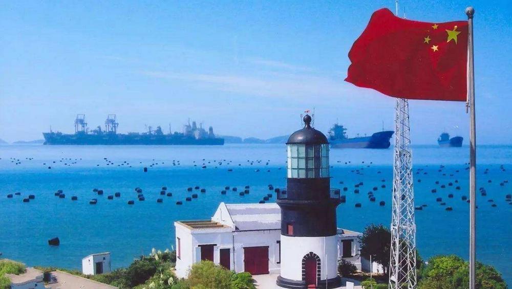 舟山群岛是中国第一大群岛,岛礁众多,星罗棋布,位于浙江省东北部.图片