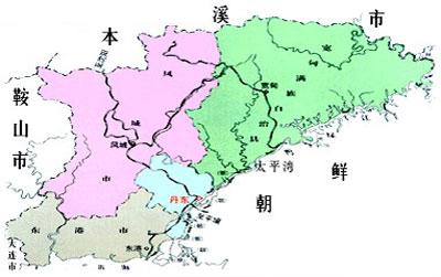 是连接朝鲜半岛与中国及图片