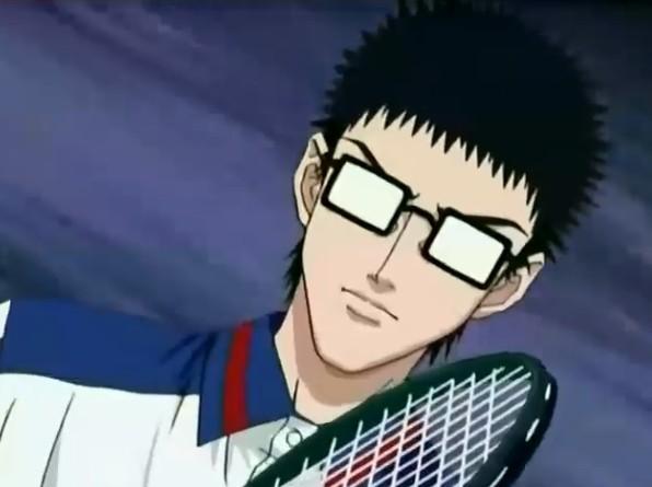 乾贞治海堂薰 乾贞治去掉眼镜图片 网球王子乾贞治高清图片