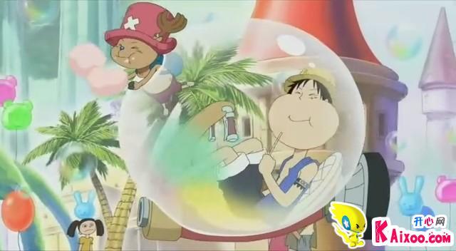 香波地群岛的草帽一伙 高清图片
