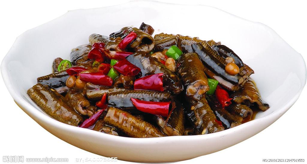 水豆豉炒鳝片