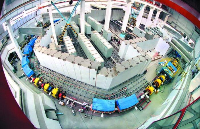 正负电子对撞机_北京正负电子对撞机与蛋白质晶体结构分析