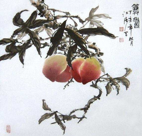 大家喜欢吃桃子吗?图片