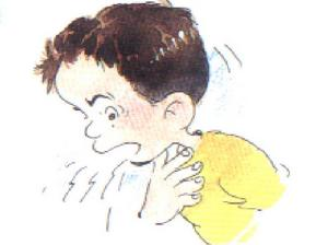 关于感冒的卡通图片