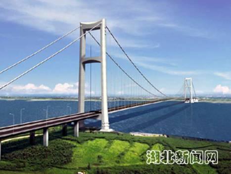 武汉阳逻长江大桥