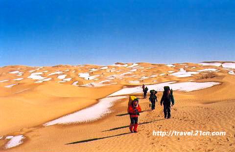 位于塔克拉玛干沙漠的尼雅遗址