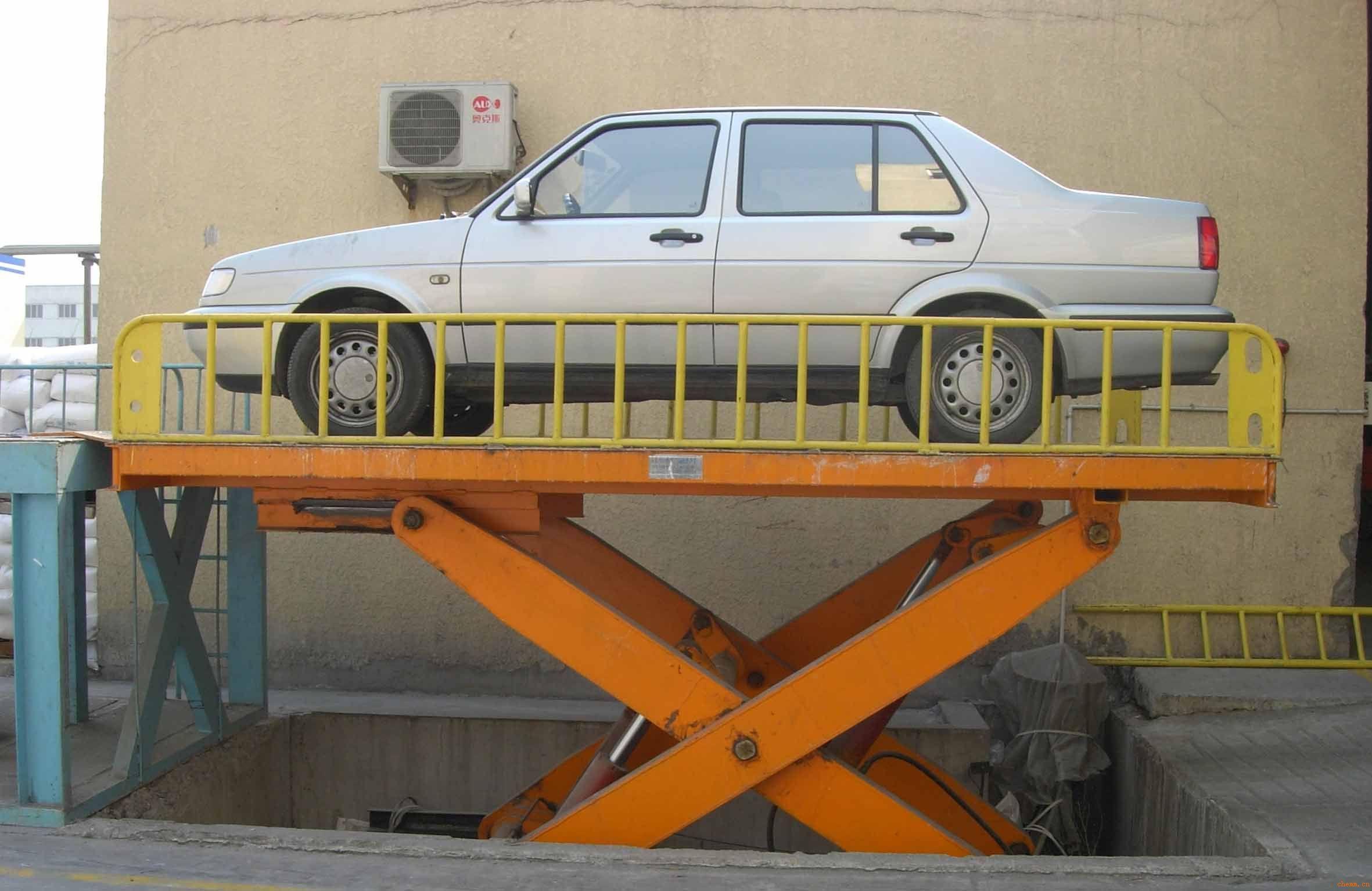 供应固定升降平台 供应剪叉式汽车升降台报价内蒙古包头市高清图片