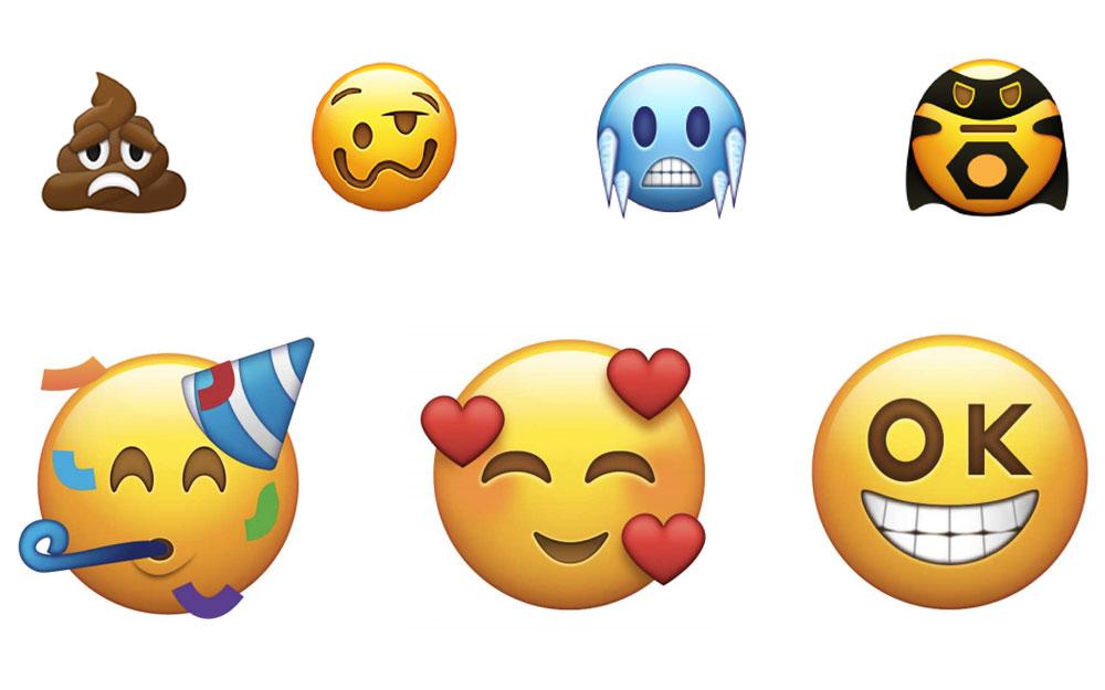 苹果推出一大批新 emoji,连库克也变成了表情包图片