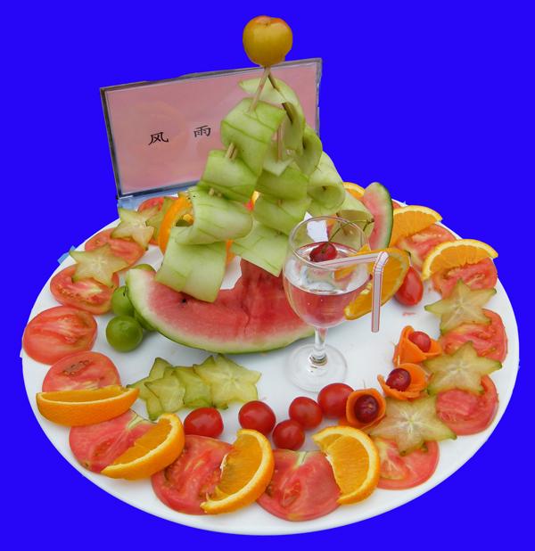 超级漂亮的水果拼盘造型设计图(制作简单); 超级漂亮的水果拼盘造型图片