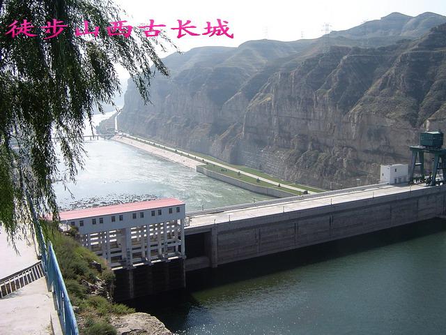 河曲县景色 徒步从清水河到老牛湾 高清图片