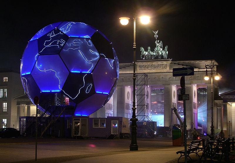 2006年德国世界杯期间的勃兰登堡门
