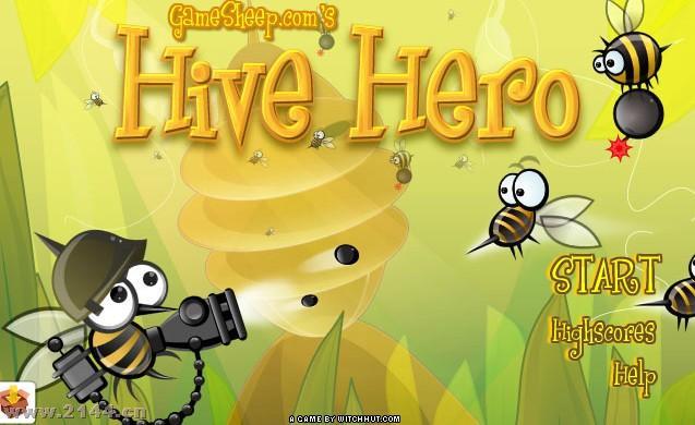 蜜蜂小战士图片