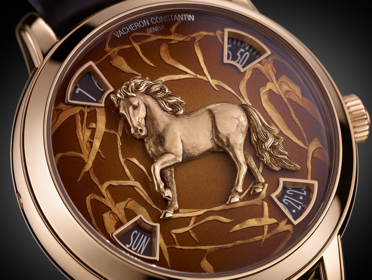 中国十二生肖传奇系列之马年腕表图片