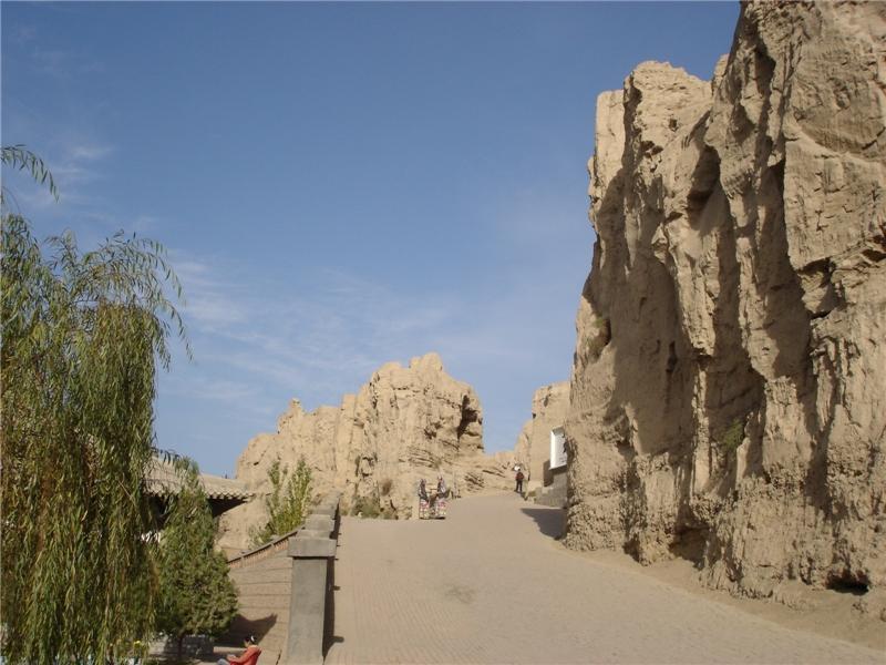 交河故城的照片图片壁纸之故城遗址 高清图片