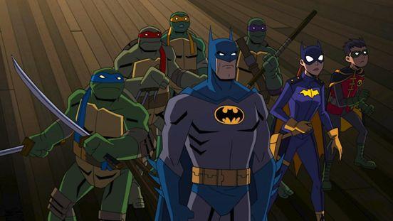 蝙蝠侠和忍者神龟