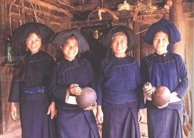 布朗族妇女