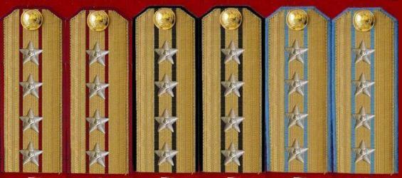 解放军军衔肩章图片大全 解放军陆军军衔和肩章的搭配