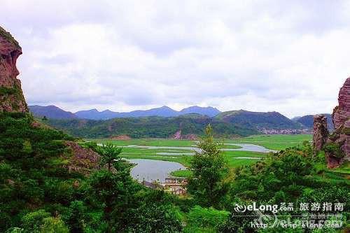 临海桃渚风景区图片