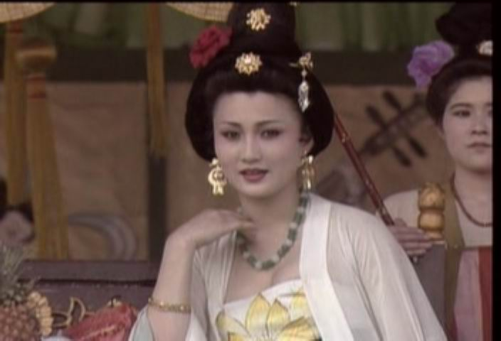女主角我觉得应该由《唐明皇》演杨贵妃的林芳兵来演.图片