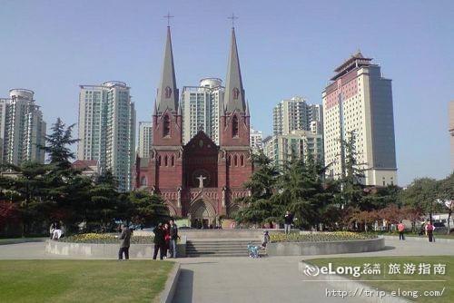 徐家汇天主教堂图片