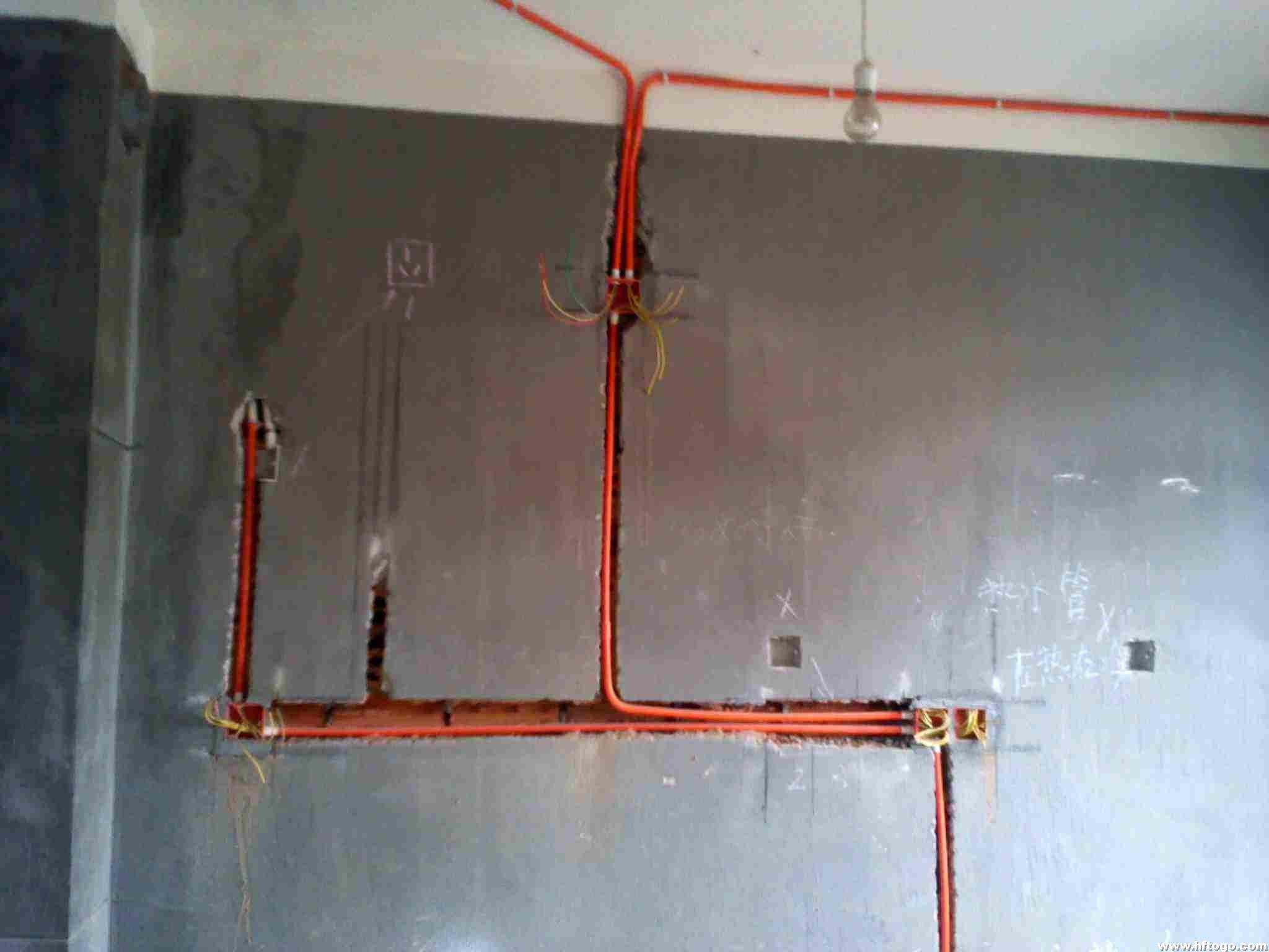 书香景苑二期 水电 水电改造施工中的注意事项 高清图片