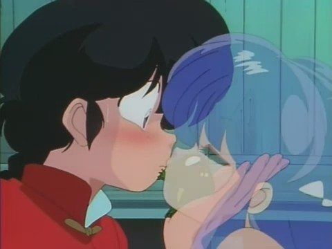 乱马和珊璞の吻