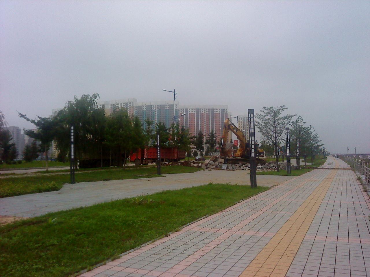 丹东新城区 丹东市新城区 新鸭绿江大桥图片