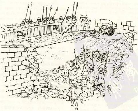 本都守军的后退式城墙一直被沿用到了近现代图片