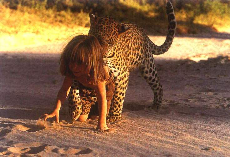 《我的野生动物朋友》—— 一个小女孩和她非洲动物朋友的故事
