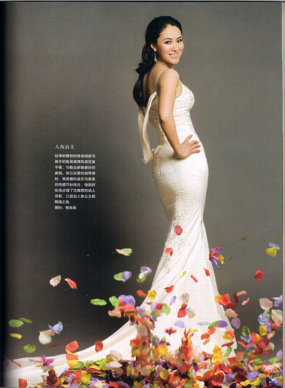 【傲骨君情】╰╬杂志图片╬╮《新娘modern bride》09年9月号图片图片