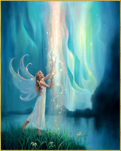 美图】一些好看神秘感的精灵/天使/美人鱼的图片 ...