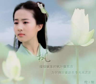 『美女明星』※┗图片┛刘亦菲饰演仙剑奇侠传儿赵图片