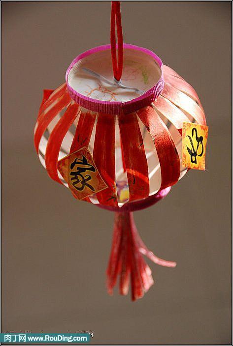 纸杯灯笼制作方法 纸杯手工制作灯笼 纸杯手工制作灯笼步骤