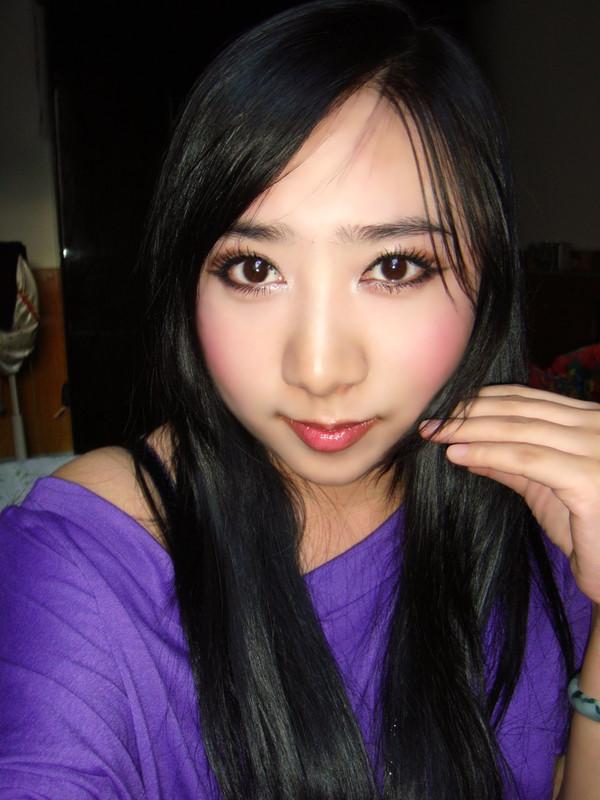 一个美女网友