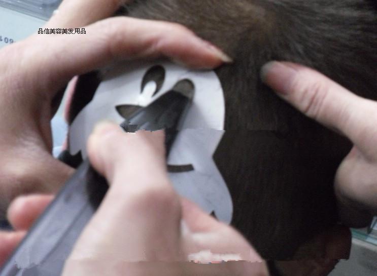 专卖儿童刻花发型模具和电推剪图片