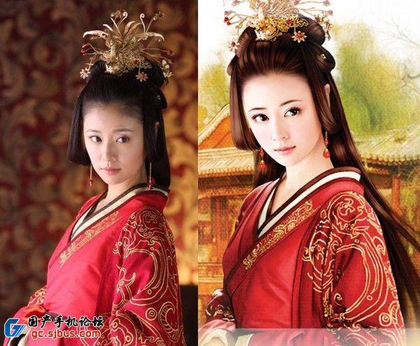 中国古代美女手绘图非h误删仅供大家养眼用