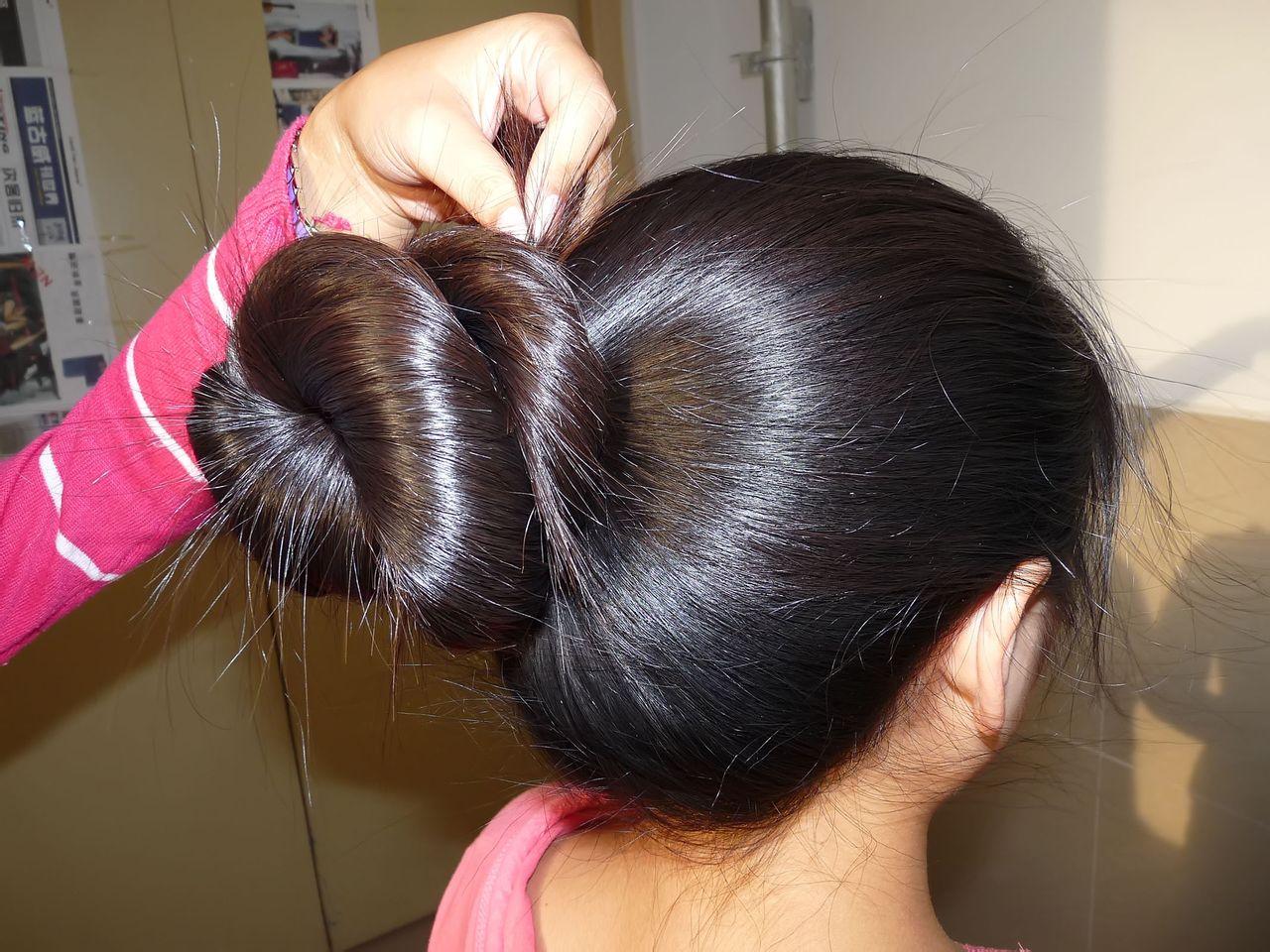 两年头发可以长多长分享展示图片